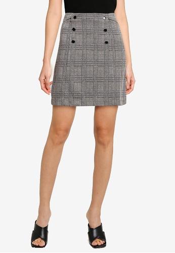 OVS multi Plaid Mini Skirt 9D98BAA73F5C68GS_1