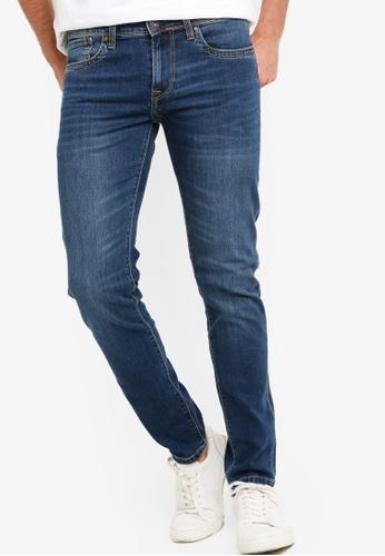 outlet store 12071 0201e Hatch Slim Fit Low Waist Jeans