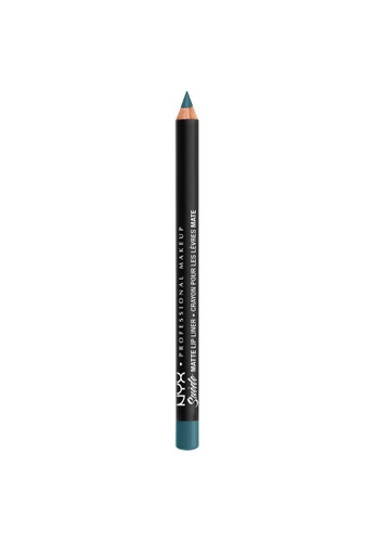 NYX Professional Makeup grey NYX Professional Makeup Suede Matte Lip Liner - SMLL 70 - ACE 3AA99BE1389526GS_1