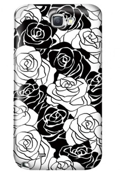 Roses Glossy Hard Case for Samsung Galaxy Note 2