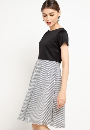 CHANIRA LA PAREZZA black and white Helinda Dress BC0BEAA3B00492GS_1