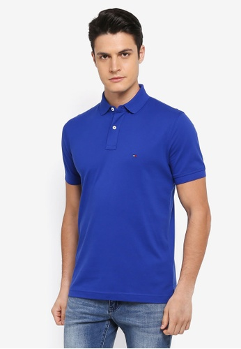 Tommy Hilfiger blue TOMMY REGULAR POLO C56EAAAC91FCE8GS_1