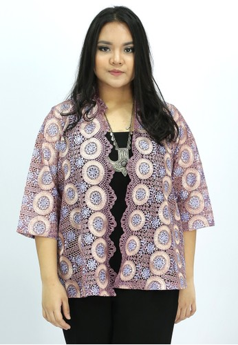 House of Kain purple Outer Brokat Ungu C5147AA0431DA1GS_1