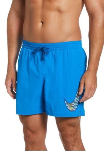 "Nike green Nike Swim Men's Essential Vital 7"" Boardshort 18419USE00C178GS_1"