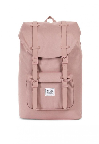 Herschel pink Little America Mid Backpack A892AACF66AA6FGS_1