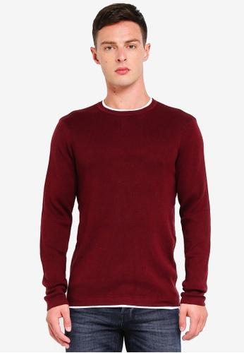 OVS 粉紅色 修身Knitwear 8F148AA3C1ECC6GS_1
