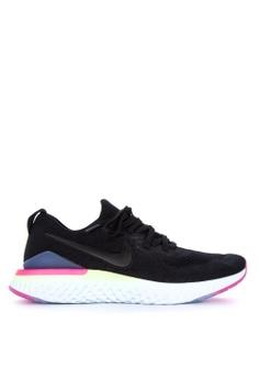 best service cb0ff 2065f Nike black Nike Epic React Flyknit 2 Shoes CA4FESH8B1F854GS1