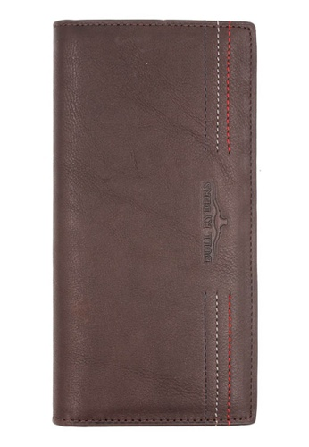 midzone brown BULL RYDERS Genuine Leather Long Wallet 5B926AC8D1A691GS_1