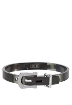 Premium-Stainless Steel Men'S Adjustable Cuff Bracelet
