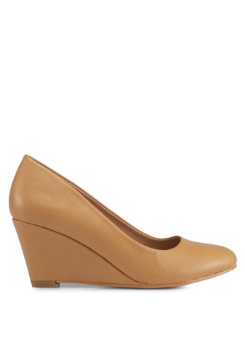 Bata brown Bata Women Wedges 76275SH663E319GS_1