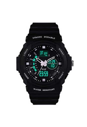 Greatnes Trading Corp black LED Sports Electronic Watch  ZG316 GR861AC52IOTPH_1