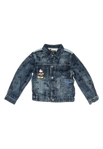 Desigual blue Mickey Mouse Denim Jacket 039DEKA4133824GS_1