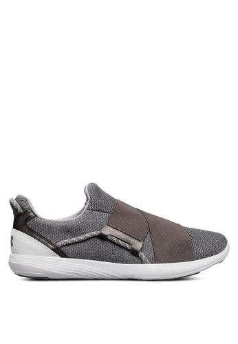 Under Armour grey UA W Precision X Training Shoes UN337SH0SU9YMY_1