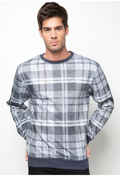 Checkered Pullover