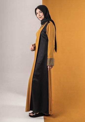 Yumnasa.id gold Yumnasa.id SHANA Dress F74A9AA3530993GS_1