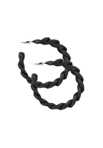 ALDO black Gweiritth Pierced Earrings B555DAC1C2326CGS_1