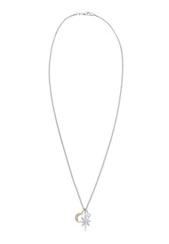 Elli Germany silver Elli Germany Necklace Moon Star Moonstone 925 Silver EL474AC0SEVEMY_1