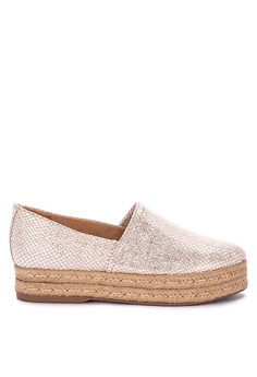 af13f868d3f Naturalizer beige and gold Thea 3 Espadrilles 45006SH6316F58GS 1