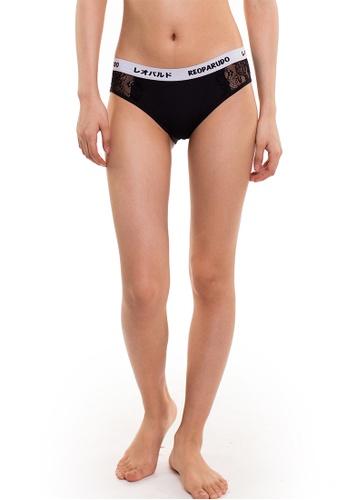 Reoparudo black Reoparudo Premium Lace Brief (Black) RE413US0FAFNSG_1
