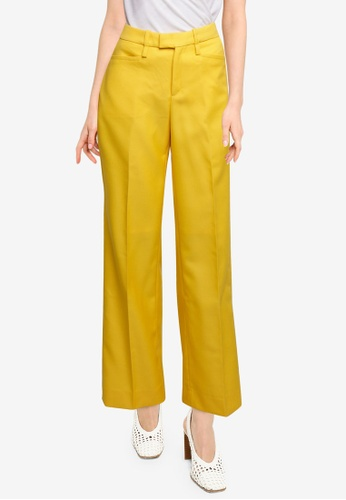 Banana Republic yellow Exaggerated Trousers 6C0D5AA8C05F30GS_1