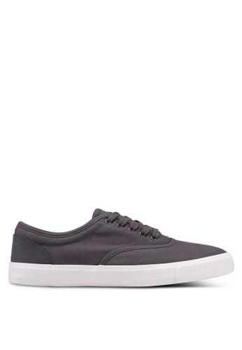 Burton Menswear London grey Grey Mesh Plimsolls F4D50SH7CA85C5GS_1