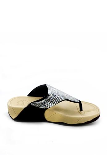 anca black Anca Sandals 8899-168 Black AN027SH24YHJID_1