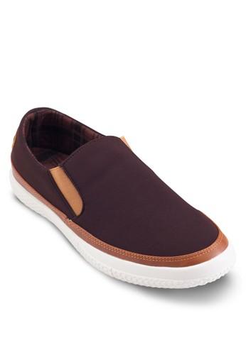 撞色懶人較低休閒鞋, 鞋,esprit hk store 鞋