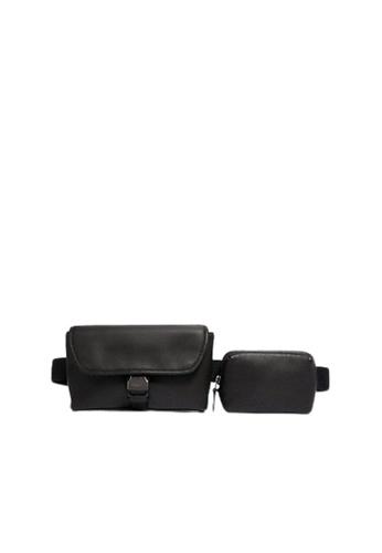 Coach black Coach Double Rider 6320 Belt Bag In Black 73849AC87A8D85GS_1