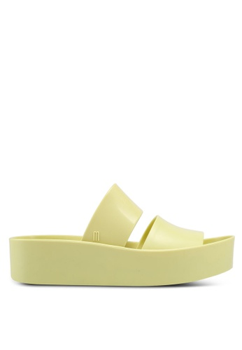 Melissa yellow Melissa Shibuya Ad Sandals 53151SHCF27F5CGS_1