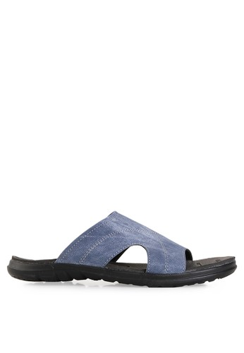 Dr. Kevin blue Sandals & Flip Flops Sandals 17204 Leather DR982SH99UEYID_1