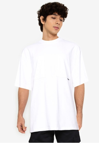 Only & Sons white Asher Oversized Short Sleeve Tee 1EFF7AAC8EA684GS_1