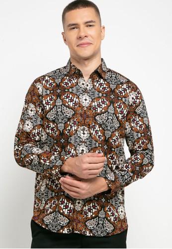 Introspect clothing black Kemeja Batik DA8C3AA09C98E7GS_1