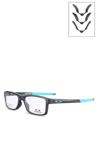 Oakley black and multi Chamfer M TBD OX8089 Glasses OA405GL0USTJID 1 9e136003ef