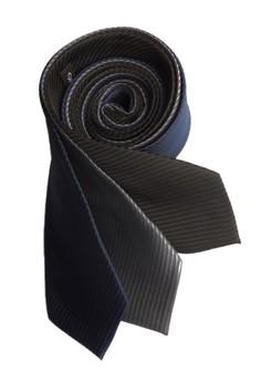 Three Piece Solid Stripe Necktie Combo 3