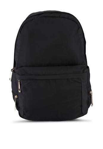 NUVEAU 黑色 Premium 尼龍後背包 20D69AC7BD8499GS_1