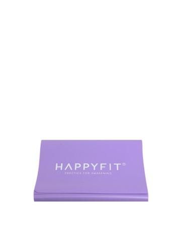 Happyfit purple HAPPYFIT RESISTANCE FLEXI BAND / EXERCISE STRAP 0,5MM PURPLE 99D2EAC863BFE1GS_1