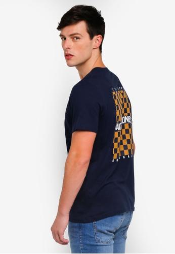 Jack & Jones 黑色 格紋T恤 EF4B2AA0CEA781GS_1