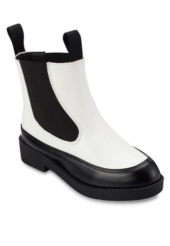 側彈性esprit女裝帶短靴, 女鞋, 鞋