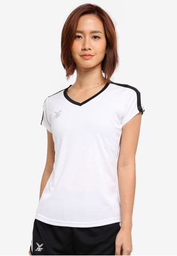 FBT black and white Sports Tee 6A700AA234D504GS_1