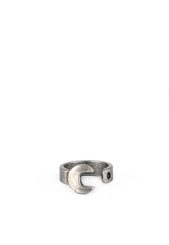 HAPPY FRIDAYS Titanium Steel Spanner Ring DW0060 AB3E7ACB63ADCFGS_1
