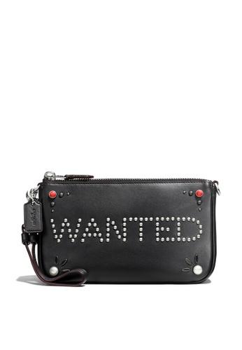 Coach black Nolita Wristlet 19 (cv) 079B0AC1D56303GS_1