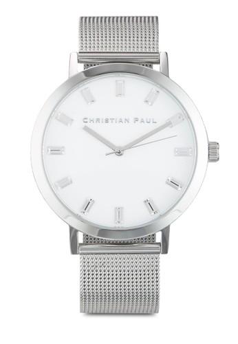 Hayman 43mm esprit 台北奢華風網眼手錶, 錶類, 飾品配件