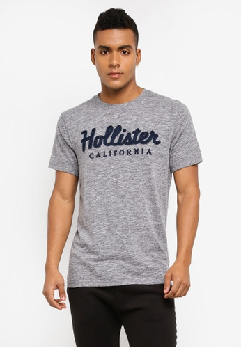 Hollister grey International Blues Tech T-Shirt 326D2AA830EE3FGS_1