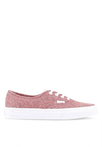 VANS red Authentic J&S Sneakers VA142SH0RR1ZMY_1