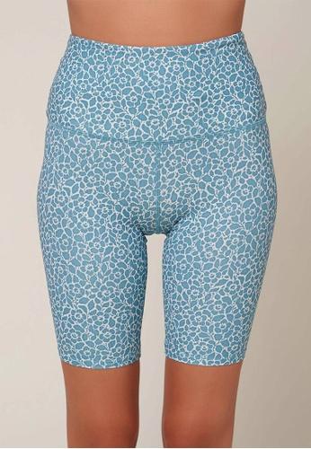 O'Neill blue O'Neill Las Flores Barbara Bike Shorts - Cameo Blue AA7C8US5BB70FCGS_1