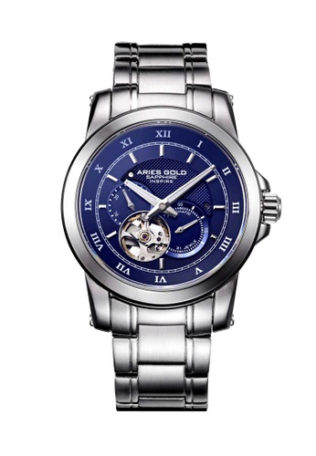 Aries Gold silver Aries Gold Infinum Forza Silver Watch 93CF5ACDC3B22DGS_1