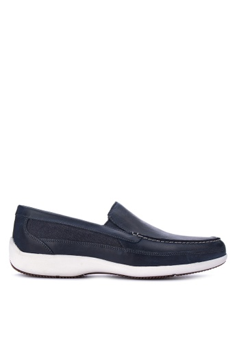 Rockport navy Aiden Panel Venetian Smart Casual Shoes DDB3ESH487E886GS_1