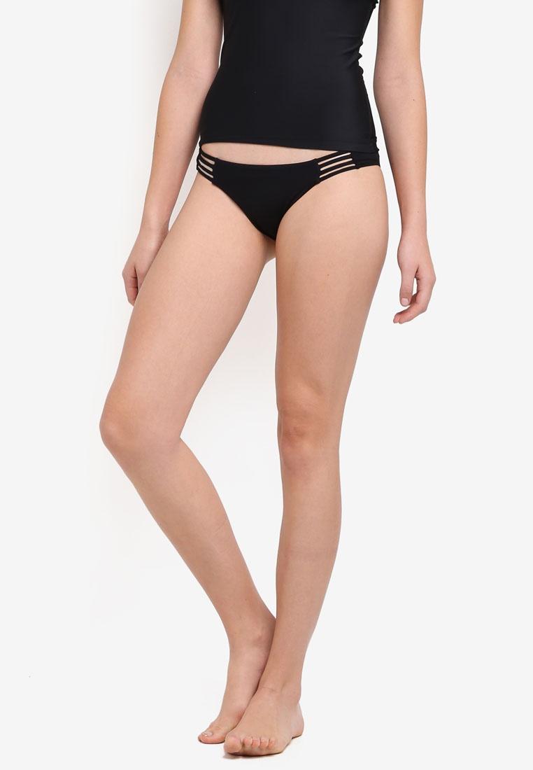 Pebble Searcher Tropic Sol Bikini Black Bottom Billabong W5qYa41Tx4