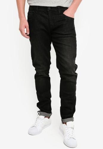 Indicode Jeans 黑色 緊身牛仔褲 0F65DAA9F2D4B7GS_1