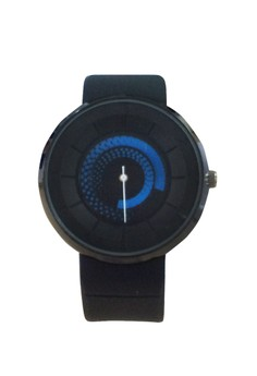 New Quartz Unique Design Rubber Watch